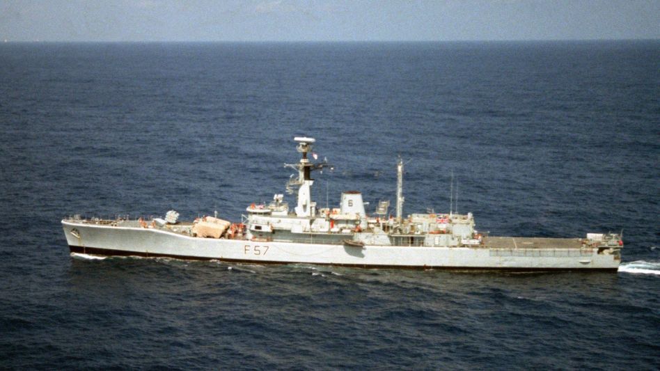 Indian Navy collision